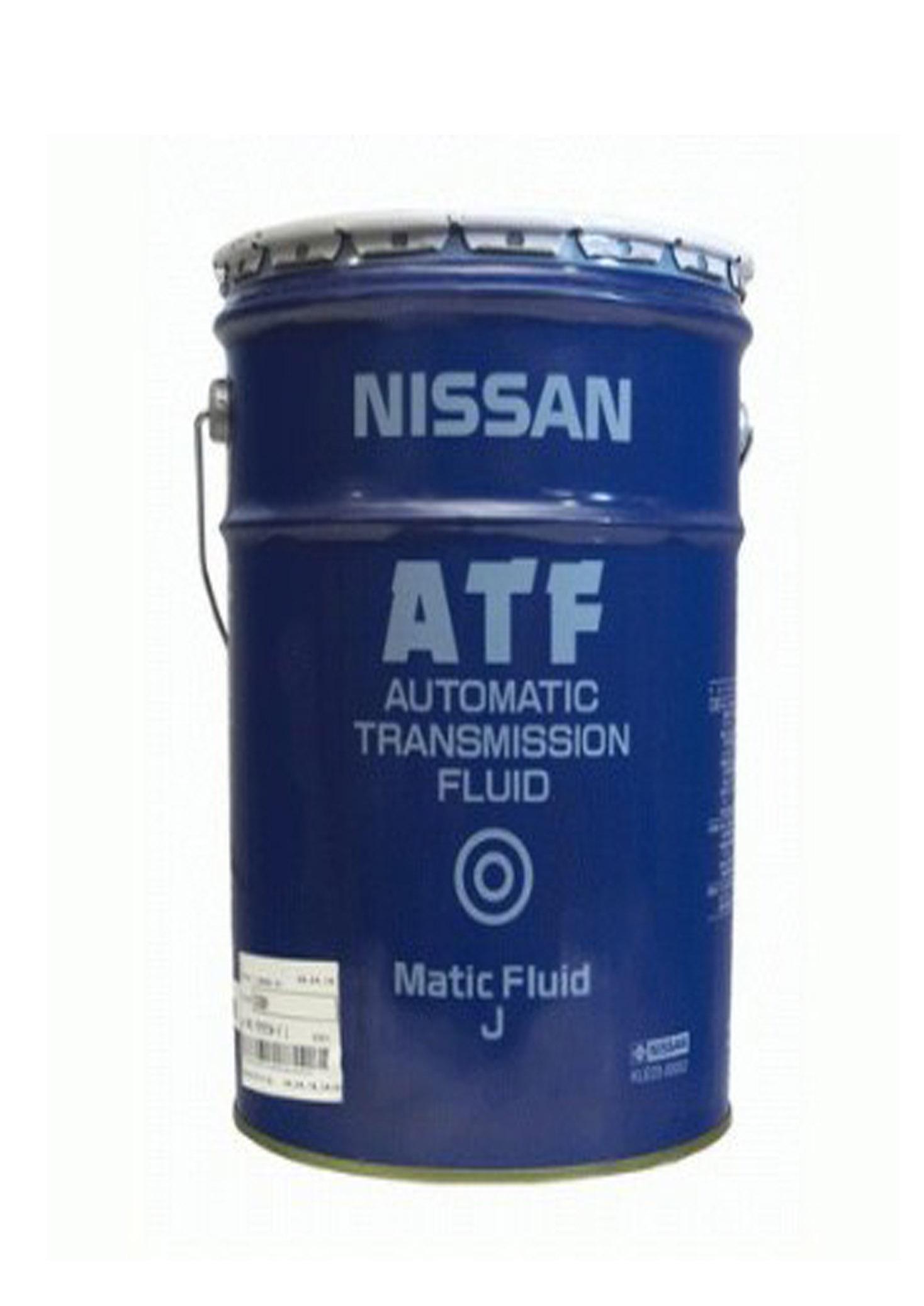 nissan kle23-00002 масло трансмиссионное atf matic j