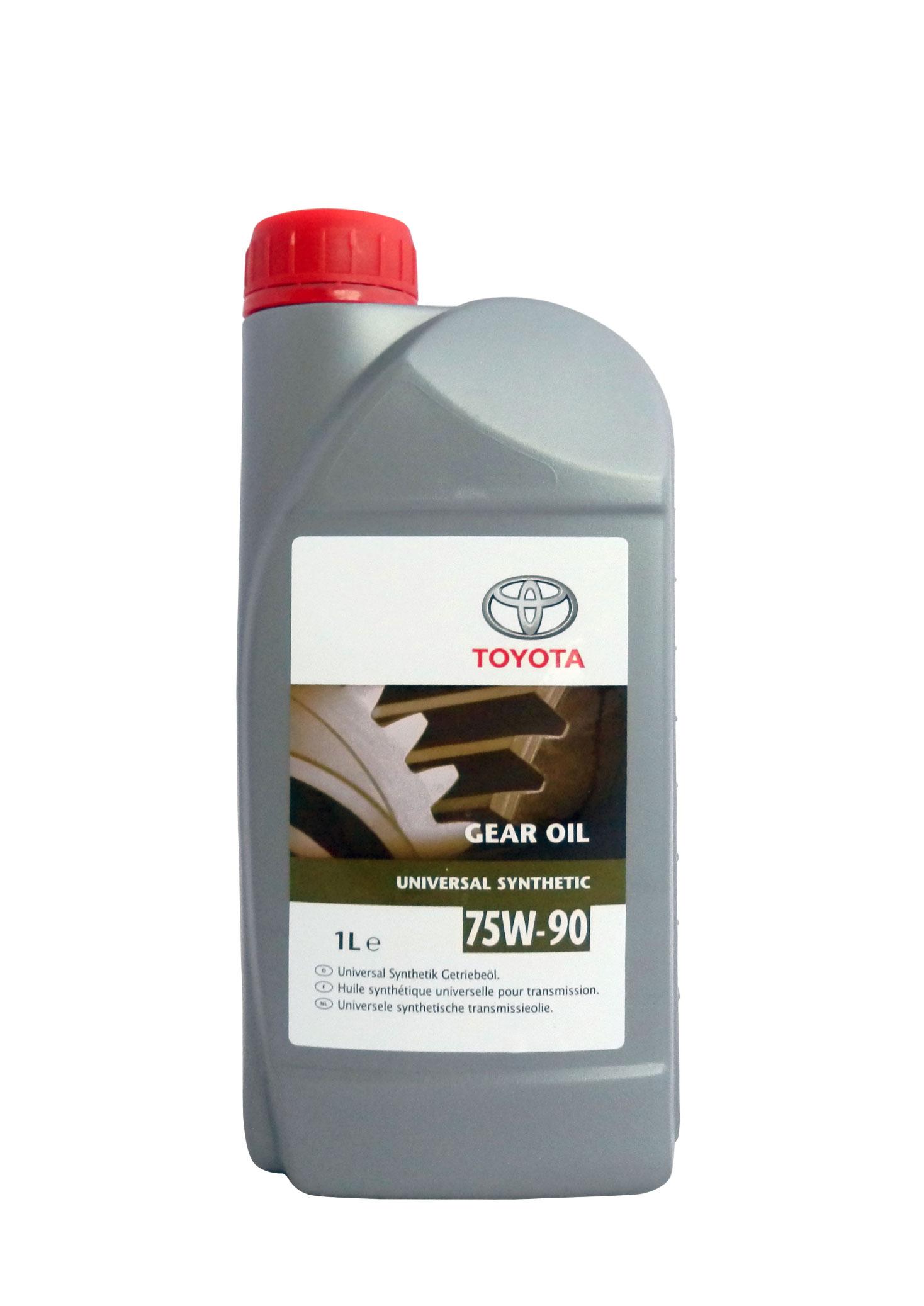 масло toyota gl-5 sae 90